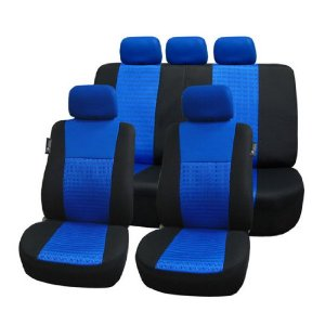 Airbag compatible and Split Bench - Blue/Black